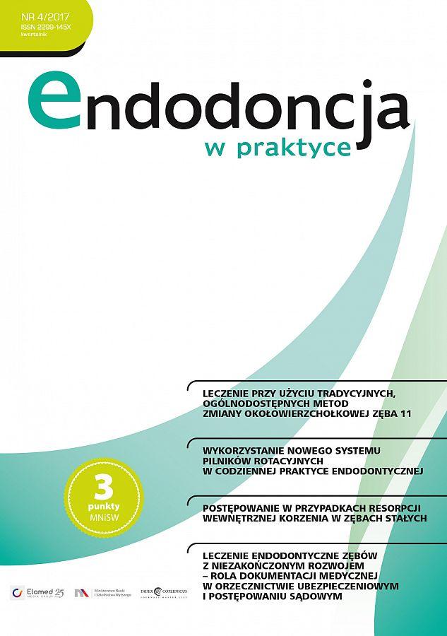 Endodoncja w praktyce wydanie nr 4/2017
