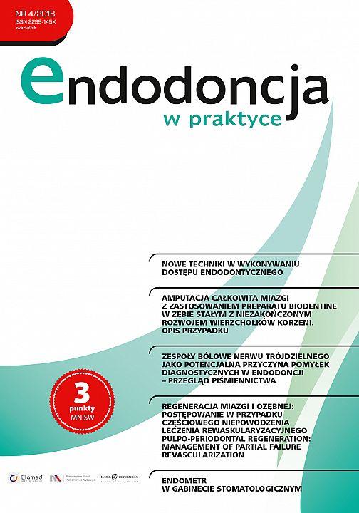 Endodoncja w praktyce wydanie nr 4/2018